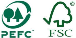 Logods PEFC FSC