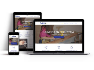 Web Responsive Galiano